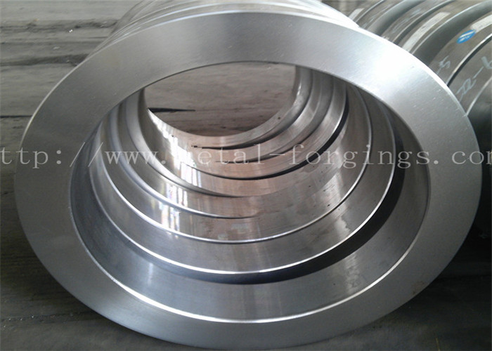 SA266 Metal Forgings Steel Ring Normalized + Tempering Quenching And Tempering Heat Treatment