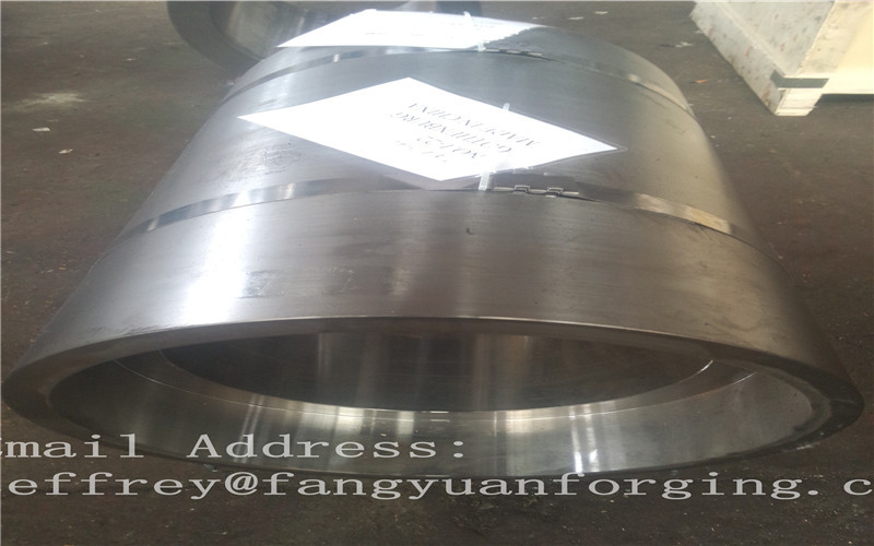 Rough Machining Carbon Steel Forged Sleeves Hot Rolled Cylinder Max Length 1200mm