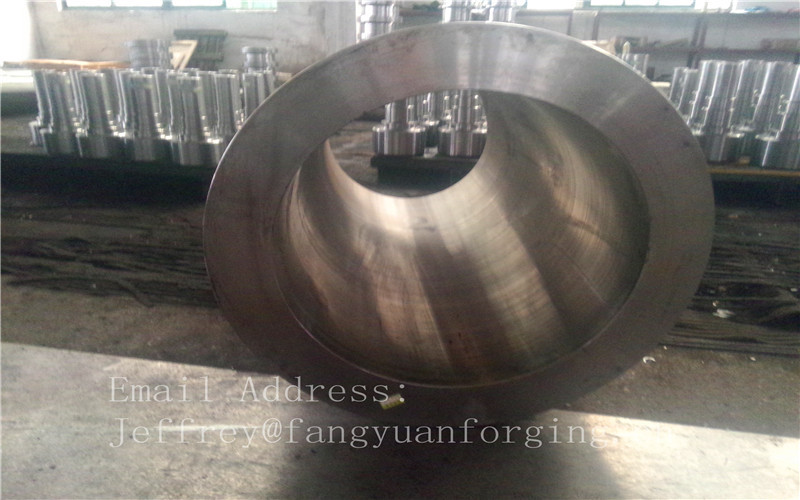 SA182- F316 Stainless Steel Forged Sleeves Tube Heat Exchanger Dyeing Installation Pipeline