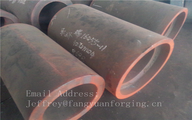 Ship Buliding Industry Forged Sleeves ABS BV DNV LR KR GL NK RINA Certificated