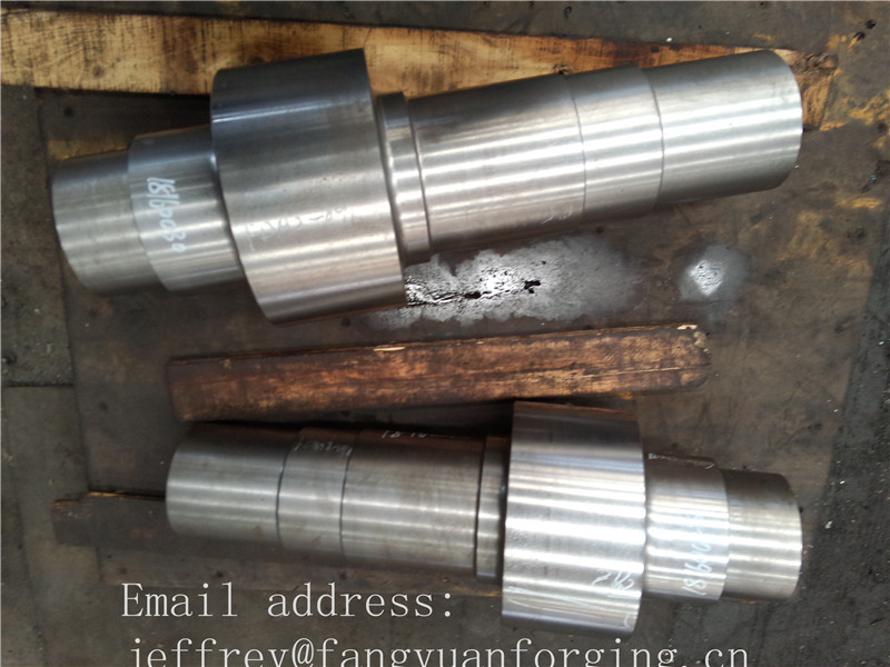 Principal Shaft Froging 34CrNIMo6 Forged Shaft Blank  ABS BV  DNV NK KR CCS RINA GL  LR Classification Society